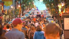 More than a thousand people were in the streets Wednesday night in Montreal in several separate rallies that eventually merged. Montreal, Separate, Wednesday, Canada, Nail Art, Night, People, Inspiration, Pull Apart