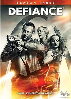 Grant Bowler & Julie Benz - Defiance: Season 3