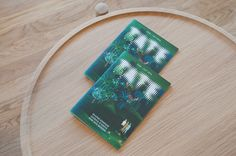 Tate's new brand identity n museum brochures