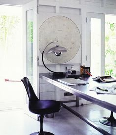 cool home office flooring