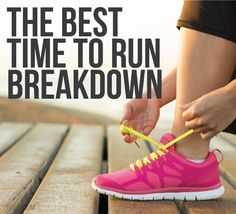 When is the best time to run?