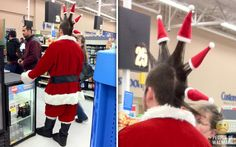 Crazy punks at every time of the year at Walmarts .....