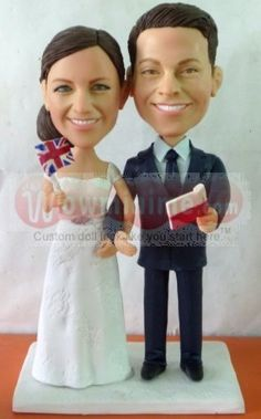 Custom Cake Toppers With The Bride On Grooms Back Piggy Themed Wedding Topper 1358