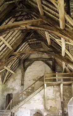 Stokesay Castle – The Hall and Staircase @cheriesplace.me.uk