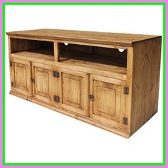 Unfinished wood furniture is rustic styles. Rustic TV stands can be incorporated in any home. Rustic wood TV stand and media cabinets are popular House Design, Unfinished Wood Furniture, Cool House Designs, Rustic Furniture, Cabinets For Sale, Rustic Tv Stand, Rustic Metal, Rustic Pine Furniture, Rustic Interiors