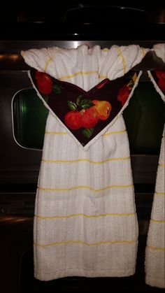 Apple And Pear Kitchen Towel With StayPut By CustomCraftForYou