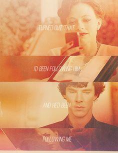 Irene Adler & Sherlock Holmes