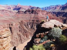 Hiking In Grand Canyon South Rim