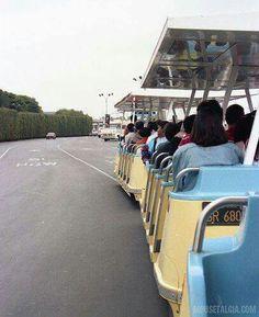 Vintage? Disney parking lot trams
