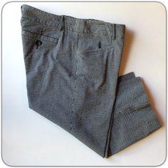 "MICHAEL KORS SEERSUCKER  CAPRI Black and grey seersucker of cotton with 2% spandex.  8"" rise 16.5 at waist. 16.5"" inseam. Straight fit not skinny. Excellent condition MICHAEL Michael Kors Pants Capris"