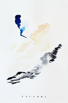 Revelation by Satsuki Shabuya | Buy Exclusively on Tappan Collective | Art | Abstract Art | Watercolor | Minimalist | Wall Art