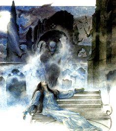 Dracula - Lucy Meets Count Dracula at Carfax Abbey - Tudor Humphries