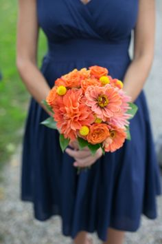 Orange and Yellow Garden Wedding | Brae Howard Photography | Bridal Musings Wedding Blog 18