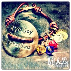 Venezuela Bracelet for Women Yo Soy Venezolana by MAZhandcrafted, $30.00