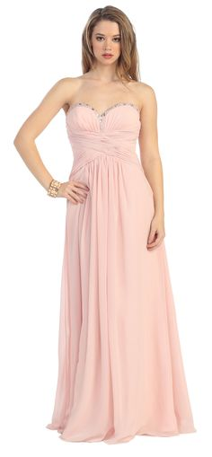 Cheap Sweetheart Chiffon Empire Backless A-line Prom Dress From Highly Praised Online Shop