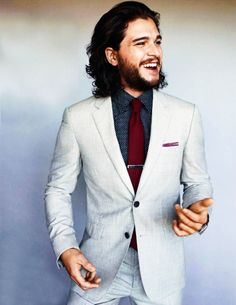 Kit Harington photographed by Peggy Sirota for British GQ