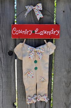 Country Laundry Sign by Carladeannesboutique on Etsy, $10.00
