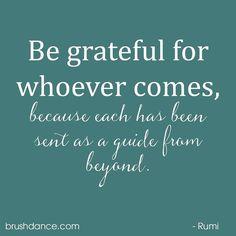 Love this quote! Happy Friday! . . #rumi #rumiquotes #grateful #guide #peace #quotesquare #brushdance #mindfulliving #gratitude #joy #spiritual #inspiration #guidance #wordsofwisdom #reminders