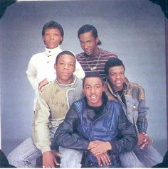 Bobby Brown & The New Edition-Opened for New Kids on the Block/Saw a big lip sync mishap...power went out and they kept on dancing with no music or words.