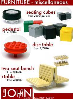 Lego idea furniture