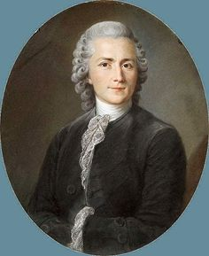 Portrait of a Man attributed a François Hubert Drouais.