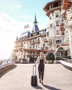 The Dolder Grand located in Zurich, Switzerland should be on your radar if you are an art lover. City Resort, Switzerland Vacation, Destinations, Imagines, Global Art, Grand Hotel, Zurich, Travel And Leisure, Best Cities