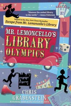 """Mr. Lemoncello has invited teams from all across America to compete in the first ever LIBRARY OLYMPICS...but someone is trying to censor what the kids are reading"" ~Catalog"