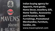 Allow us to be your guide in sourcing from India