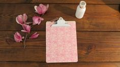 lovely Clipboard Design by MarieKDesign on Etsy