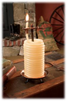 Eclipse Home D Cor Candle By The Hour 80 Hour Tall Vertical Candle Refill