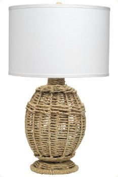 Pepe Jute Wrapped Lamp