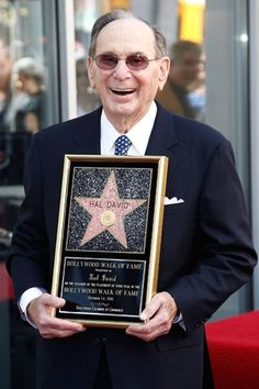 Hal David one of the greatest songwriters of all time. Thanks for the music!