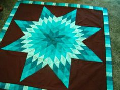 Quiltsmart: Brag Post- A Duo of Lone Stars Lone Star Quilt Pattern, Star Quilt Patterns, Block Patterns, Quilting Projects, Quilting Tips, Quilting Designs, Bargello Quilts, Star Quilts, Easy Quilts