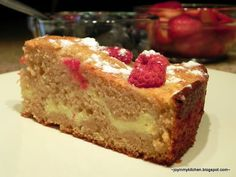 Finding Joy in My Kitchen: Lemon Raspberry Cream Cheese Coffee Cake