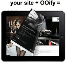 OOify is a plugin that makes any site site feel like it was designed specifically for mobile devices and tablets. By automatically adding the right sizing, swiping and flipping effects to your site, it creates a more engaging experience for your tablet and mobile site visitors.