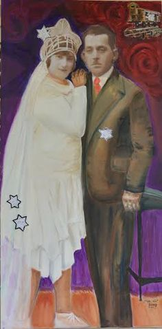 Lea Pilzer-Efrat     I was born in Tel Aviv and have been carrying the legacy of the holocaust with me since my childhood. My art is a continuation of our family's photo album and is dedicated to the parts of the family which have experienced and suffered the holocaust.