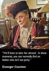 Oh, really Dowager ??????