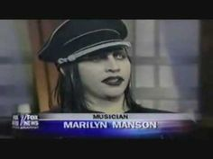 Marilyn Manson Interviewed by Bill O'Reilly - YouTube