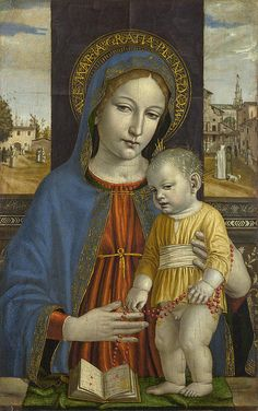 The Virgin And Child  Ambrogio Bergognone