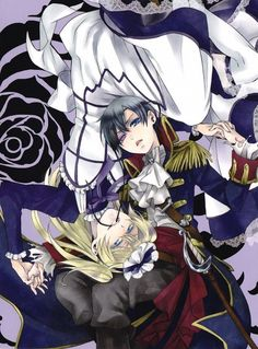 Both Alois and Ciel looks gorgeous