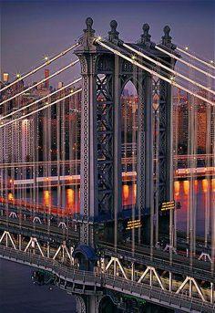 Manhattan Bridge#Repin By:Pinterest++ for iPad#