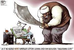 Karikaturen nach Anschlag auf «Charlie Hebdo»