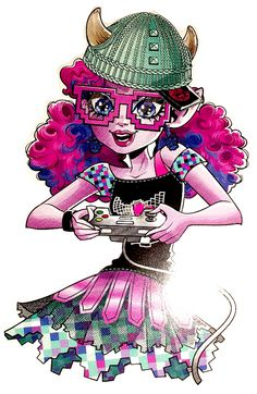 Monster High Monster Exchange Program Kjersti Trollson Artwork
