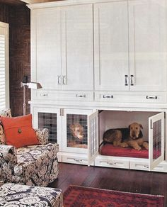 21 Stylish Dog Crates - Home Stories A to Z