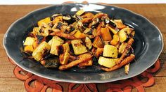 Chew Viewer - Roasted Vegetables with Rosemary