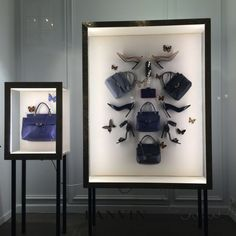 "LANVIN, Paris, France. Cabinet of Curiosity: ""Handbags,High Heels,Jewellery...the girl's Wonder-Room"". Insect-like."