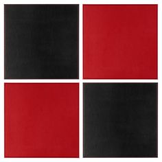 Buy George Home Reversible Red & Black Placemats - 4 Pack from our Tableware range today from George at ASDA. Asda, Kitchen, Home Decor, Cuisine, Kitchens, Interior Design, Home Interior Design, Stove, Cucina
