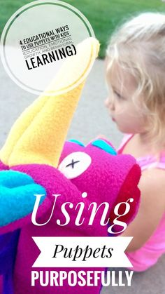 using puppets to teach behavior