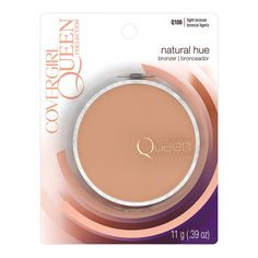 Beautiful Natural Makeup - COVERGIRL Queen Natural Hue Mineral Bronzer Light Bronze, .39 oz *** Click on the image for additional details. (This is an affiliate link)