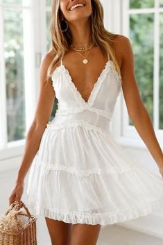 Marriage Gown White One Shoulder Dress Toddler Dresses White Poofy Dress - Marriage Gown White One Shoulder Dress Toddler Dresses White Poofy Dre – inloveshe Source by - Short Summer Dresses, White Dress Summer, White Sundress, Short White Dresses, White Mini Dress, Cute Dress For Summer, White Spring Dresses, Short Casual Dresses, White Dress Casual